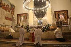 Procesja z okazji wspomnienia św. Faustyny (2)